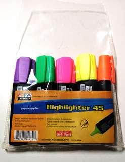 螢光筆 Highlighter 🔎📋