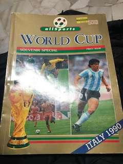 World Cup Souvenirs Special Italy 1990