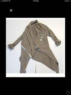造型開襟外套