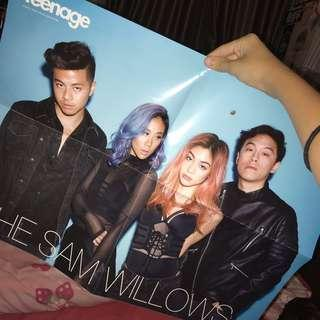 [ giving away ] sam willows & momoland poster