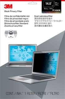 3M Black Privacy Filter 14