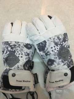 Three Weather snow gloves - 滑雪手套 gore-tex