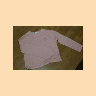 Ulzzang Strawberry ¾ sleeves top