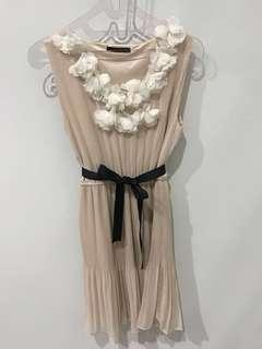 Dress pesta atau casual warna salem