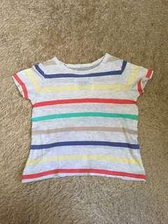 Gingersnaps Colorful Stripes Shirt