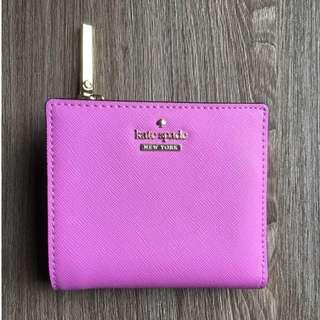 💯Authentic Purple Kate Spade Wallet [Pre-loved]