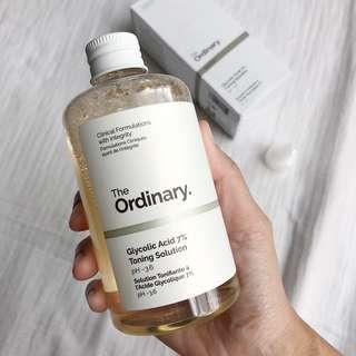[PO] The Ordinary Glycolic Acid 7% Toning Solution