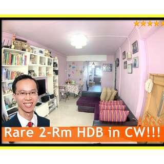 Rare 2-Rm HDB for Sale in Commonwealth Close! Nicely Renovated!
