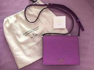 Kate spade purple bag authentic