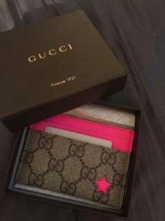 BNIB Gucci Card Holder with box