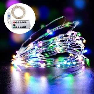 LED Multicolour Fairy Lights