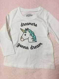 🚚 OKBG Unicorn long sleeves top