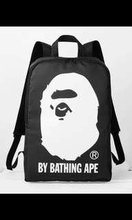 In stock Brand new Free delivery Bathing Ape Bape back pack bag