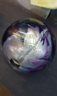 CHEAP $150!!!! WORLD'S FAMOUS TOP OF THE LINE PROFESSIONAL BOWLING BALL HYPERCELL BY ROTOGRIP!!!