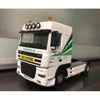 Daf XF Courcelle 4x2 truck exclusive 1:50