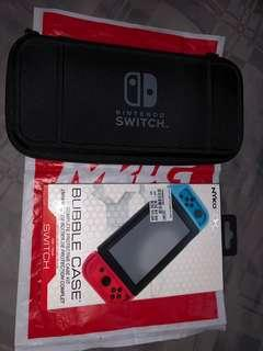 Nintendo Switch Bubble Case by Nyko and Protective Carry Case