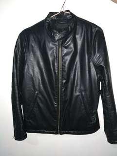 e803a34cc95b8 Original UNIQLO leather jacket