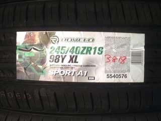 Tyre promotion 245/40/19