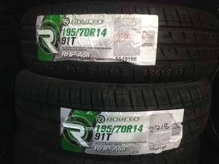 Tyre promotion 195/70/14