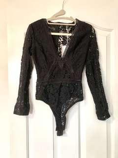 Missguided bodysuit size 2