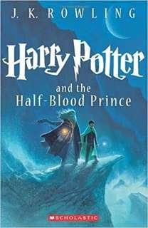 Harry Potter and The Half Blood Prince(BOOK 6)