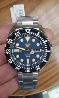 Seiko SRP605K1  Blue Face  2001