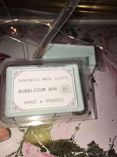Vegan & natural bubblegum bar