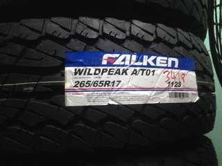 Tyre promotion 265/65/17