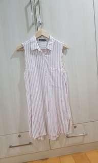 Bershka striped dress