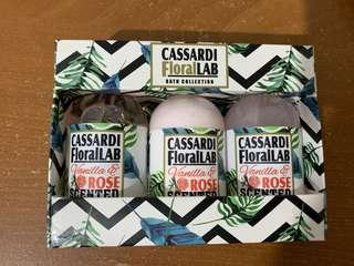 Cassardi Bath Set (travel size)