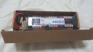 Tamiya remote RC 1/10 4600MAH battery
