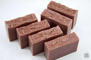 Handmade Red Clay Soap