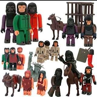 plantes of the apes kubrick (set B- H) 猿人襲地球