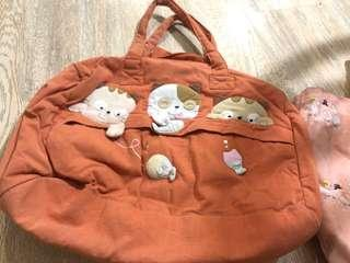 Cute bags (not small, can put a laptop)