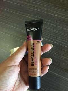 Reprice L'Oréal infallible