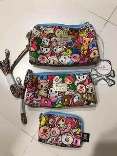 Bnwt - Tokidoki x Jujube Tokipops Be Set (Retail!) donutella / mozz