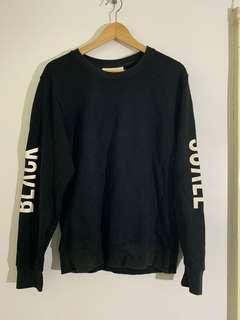 Black Scale sweater