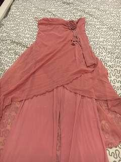 Pink Party Dress (dalamnya Celana)