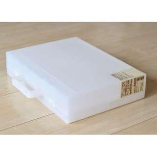 🚚 日本帶回 無印良品 MUJI 手提箱 工具箱 旅行箱 收納盒