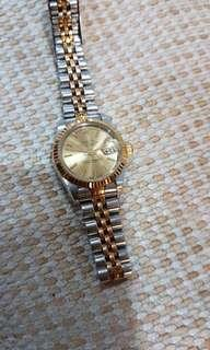 Rolex oyster perpetual (ladies watch)