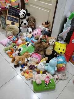 Soft Toys all as it