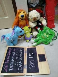 All rm15 soft toys