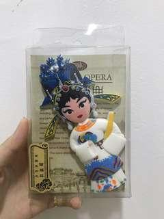 Chinese Opera Fridge Magnet