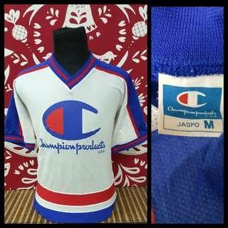 Vintage jersi champion big logo