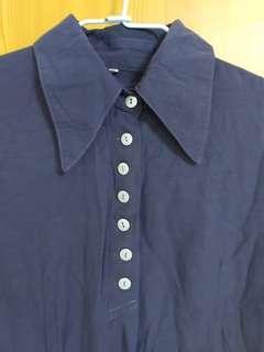 🚚 韓製深灰襯衫
