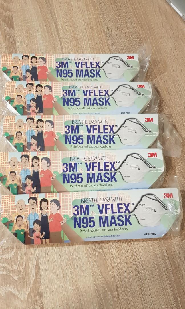 3m n95 mask vflex
