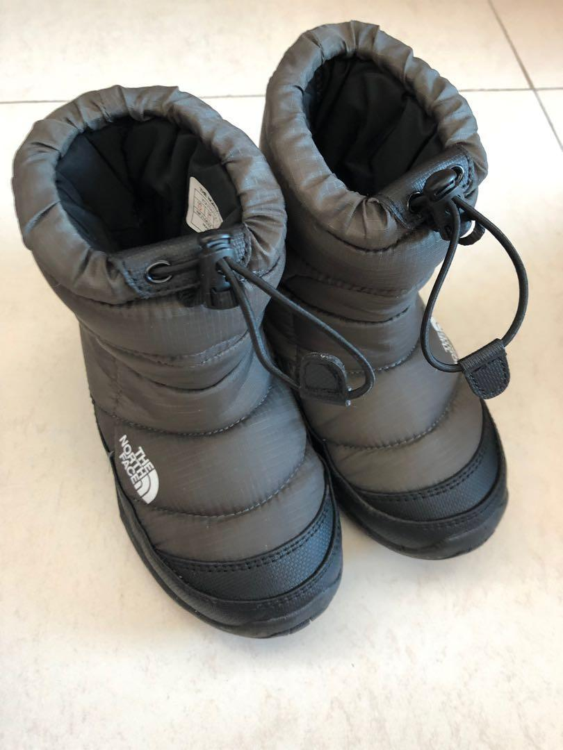 (90% new) north face 防水雪靴(18cm)