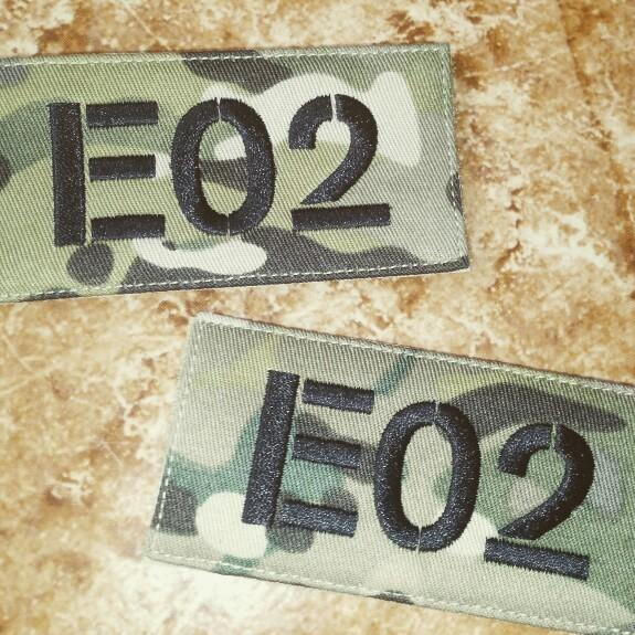 🆕🆒 Radio call sign Custom name Tapes Text brand Morale