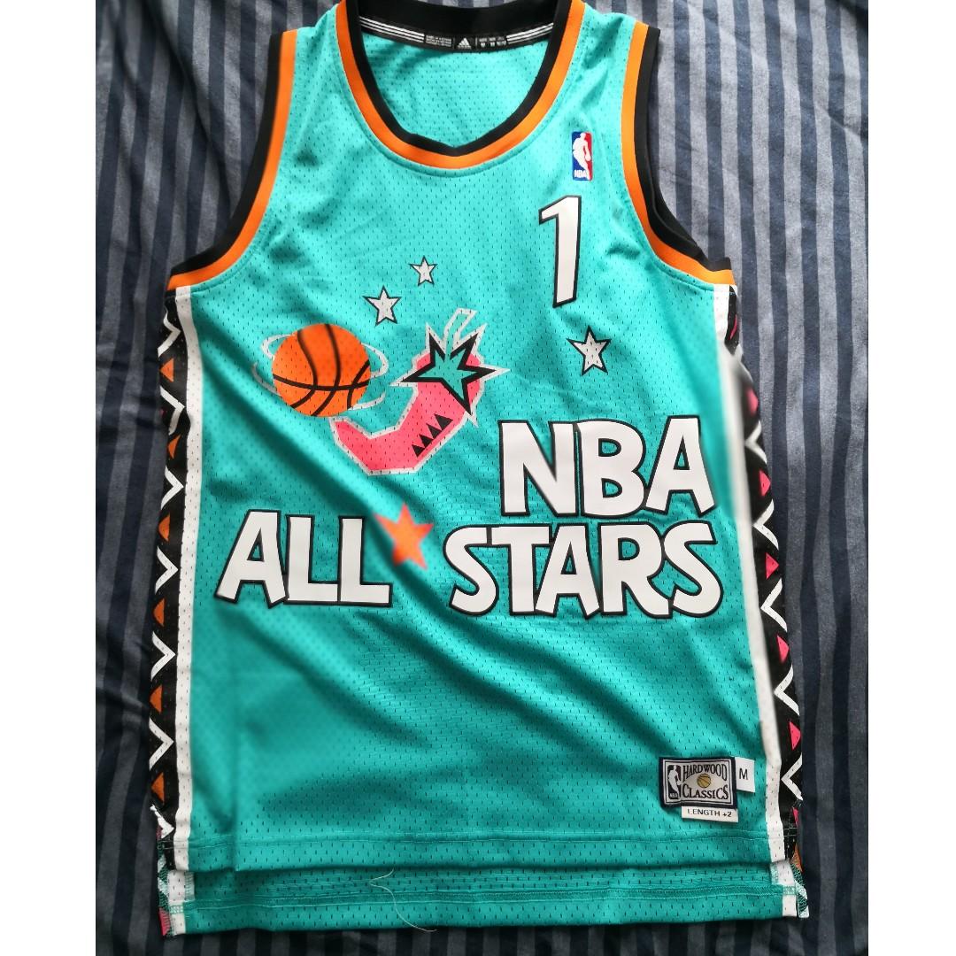 huge discount 29ba0 aeda4 Adidas NBA 1996 NBA All Star Penny Hardaway Size M (New)