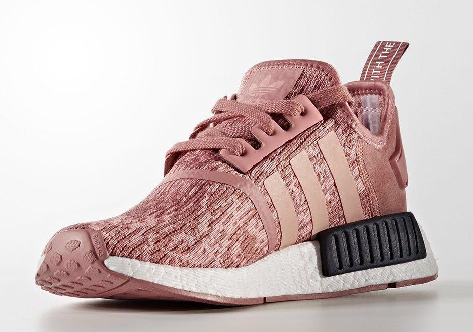 Adidas NMD R1 in Raw Pink, Women's
